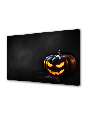 Tablou Canvas Halloween Dovleac malefic