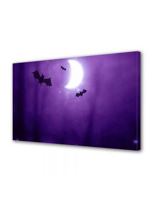 Tablou Canvas Halloween Halloween forme lilieci