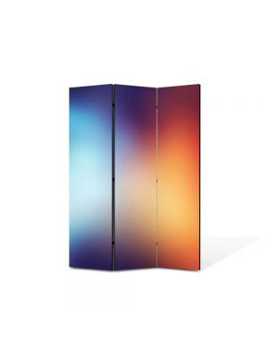 Paravan de Camera ArtDeco din 3 Panouri Abstract Decorativ Halou 105 x 150 cm