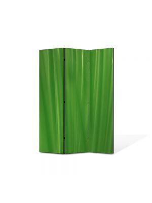 Paravan de Camera ArtDeco din 3 Panouri Abstract Decorativ Fire de iarba 105 x 150 cm