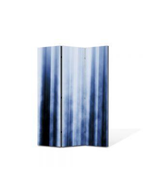 Paravan de Camera ArtDeco din 3 Panouri Abstract Decorativ Fascicule luminoase 105 x 150 cm