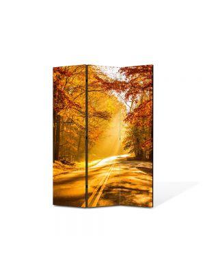 Paravan de Camera ArtDeco din 3 Panouri Peisaj Serendipity 105 x 150 cm