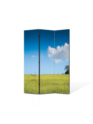 Paravan de Camera ArtDeco din 3 Panouri Peisaj 105 x 150 cm