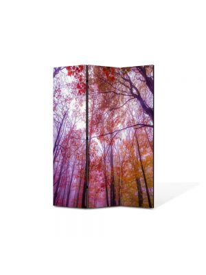 Paravan de Camera ArtDeco din 3 Panouri Peisaj Maretie 105 x 150 cm