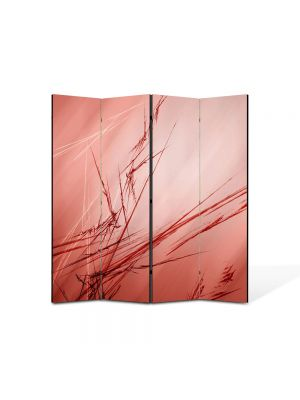 Paravan de Camera ArtDeco din 4 Panouri Abstract Decorativ Abstract 140 x 150 cm