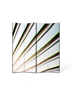 Paravan de Camera ArtDeco din 4 Panouri Abstract Decorativ Raze 140 x 150 cm