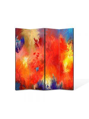 Paravan de Camera ArtDeco din 4 Panouri Abstract Decorativ Univers 140 x 150 cm