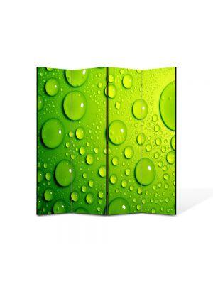 Paravan de Camera ArtDeco din 4 Panouri Abstract Decorativ Stropi 140 x 150 cm
