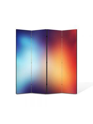 Paravan de Camera ArtDeco din 4 Panouri Abstract Decorativ Halou 140 x 150 cm