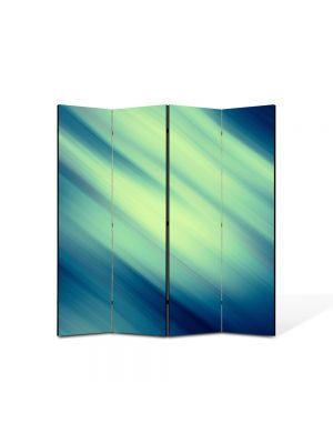 Paravan de Camera ArtDeco din 4 Panouri Abstract Decorativ Lateral 140 x 150 cm