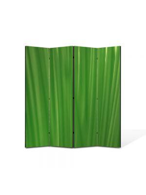 Paravan de Camera ArtDeco din 4 Panouri Abstract Decorativ Fire de iarba 140 x 150 cm