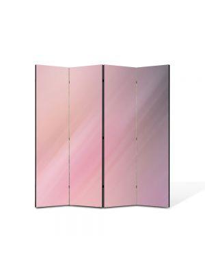 Paravan de Camera ArtDeco din 4 Panouri Abstract Decorativ Sticla 140 x 150 cm