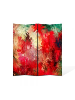 Paravan de Camera ArtDeco din 4 Panouri Abstract Decorativ Pictura contemporana 140 x 150 cm