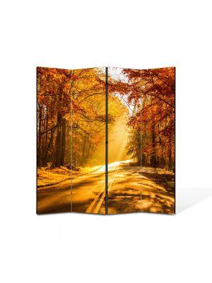 Paravan de Camera ArtDeco din 4 Panouri Peisaj Serendipity 105 x 150 cm