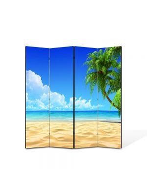 Paravan de Camera ArtDeco din 4 Panouri Peisaj Infinit 105 x 150 cm