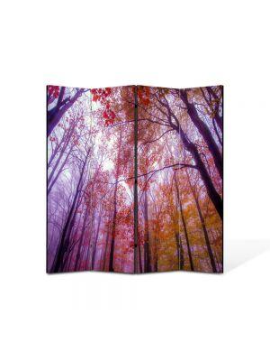 Paravan de Camera ArtDeco din 4 Panouri Peisaj Maretie 105 x 150 cm