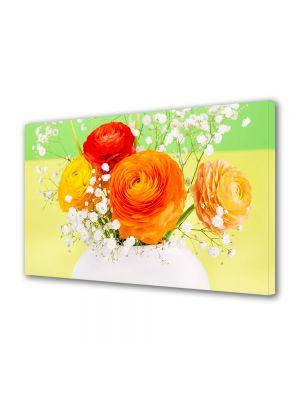 Tablou Canvas Sarbatori Paste Buchet de flori persane in vaza