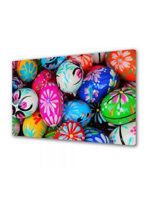 Tablou Canvas Sarbatori Paste Decoratiuni traditionale pe oua