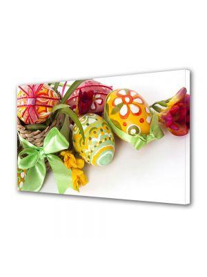 Tablou Canvas Sarbatori Paste Aranjament cu oua