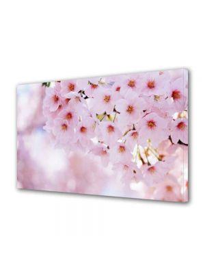 Tablou VarioView MoonLight Fosforescent Luminos in intuneric Peisaje Buchet de flori roz