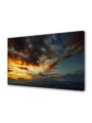 Tablou VarioView MoonLight Fosforescent Luminos in intuneric Peisaje Lupta norilor