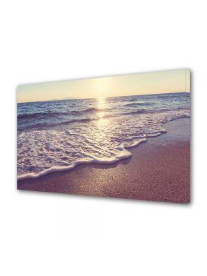 Tablou Canvas Peisaj Dimineata pe plaja 80 x 140 cm - 39% reducere
