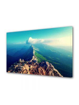 Tablou Canvas Peisaj Pe creasta muntelui