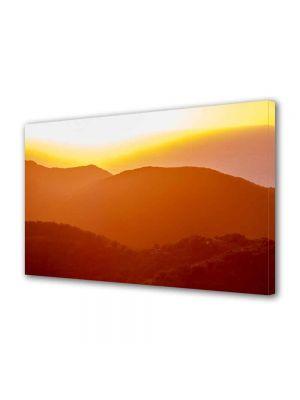 Tablou Canvas Peisaj Siluete de dealuri