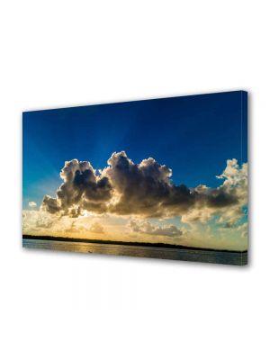 Tablou VarioView MoonLight Fosforescent Luminos in intuneric Peisaje Siluete de nori