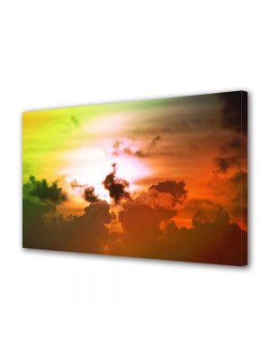 Tablou Canvas Peisaj Culori fantastice pe cer