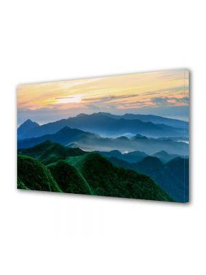Tablou Canvas Peisaj Munti verzi