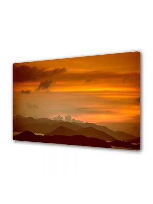 Tablou Canvas Peisaj Amurg