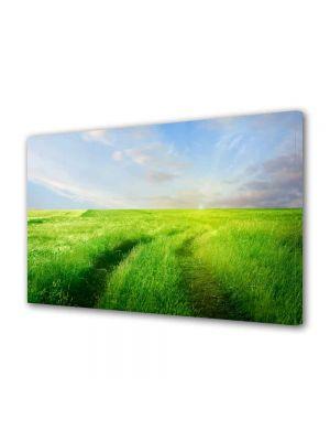Tablou Canvas Peisaj Carare verde
