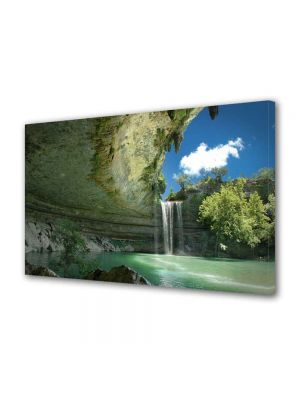 Tablou VarioView MoonLight Fosforescent Luminos in intuneric Peisaje Cascada ireala