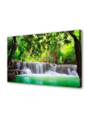 Tablou Canvas Peisaj Cascade multiple 40 x 60 cm - 62% reducere