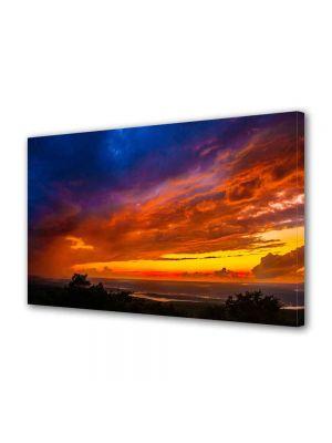 Tablou Canvas Peisaj Culori la apus