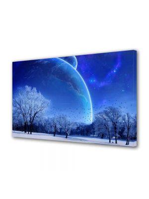 Tablou Canvas Luminos in intuneric VarioView LED Peisaj Planete fantastice