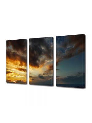 Tablou Canvas Peisaj Lupta norilor