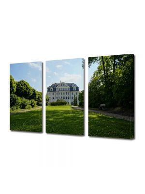 Set Tablouri Multicanvas 3 Piese Peisaj La palat