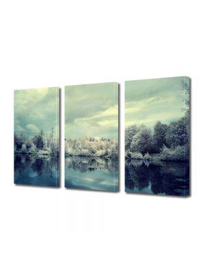 Set Tablouri Multicanvas 3 Piese Peisaj Nuante reci