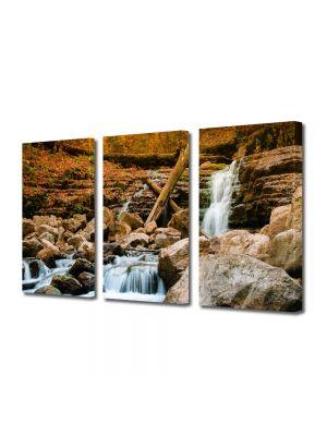 Set Tablouri Multicanvas 3 Piese Peisaj Cascada lina