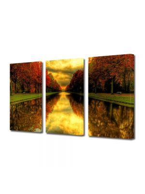Set Tablouri Multicanvas 3 Piese Peisaj Capat de perspectiva
