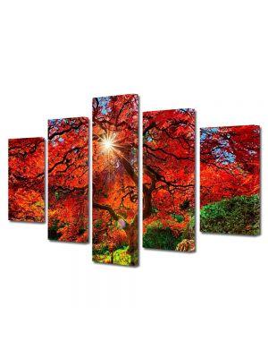Set Tablouri Canvas 5 Piese Peisaj Suprarealist