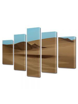 Set Tablouri Canvas 5 Piese Peisaj Desert
