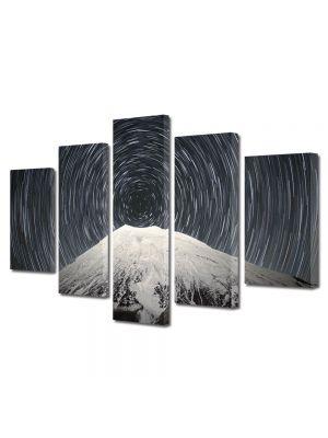 Set Tablouri Canvas 5 Piese Peisaj Spirala