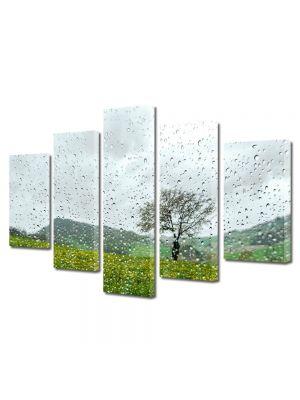 Set Tablouri Canvas 5 Piese Peisaj Plouat