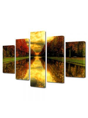 Set Tablouri Multicanvas 5 Piese Peisaj Capat de perspectiva