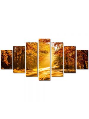 Set Tablouri Multicanvas 7 Piese Peisaj Serendipity