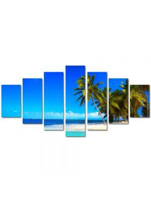 Set Tablouri Multicanvas 7 Piese Peisaj La plaja