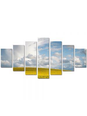 Set Tablouri Multicanvas 7 Piese Peisaj Nori frumosi